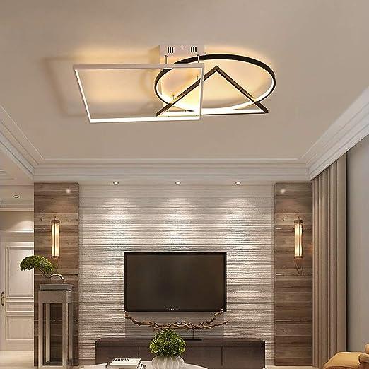 HLD Light LED Lámpara de Techo, WiFi Control Remoto Inteligente ...