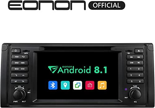 Car Radios, Android 8.1 Car Head Unit, Car Stereo Radio,7 Inch HD Touchscreen Car Stereo Radio, 32GB ROM Applicable to 5 Series 1995-2002 E39 Support Fastboot, Bluetooth, WiFi Connection-GA9301B