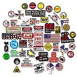 Hard Hat Stickers [Big 50 PCS] - Funny Sticker