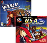 Software : Where in the World & USA is Carmen SanDiego?