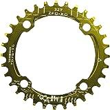 UPANBIKE 狭い ワイド 丸い形 シングル 自転車チェーンリング 104mm BCD 32T 34T 36T 38T