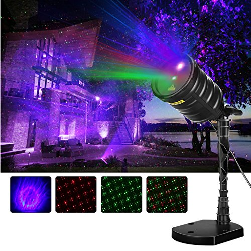 Laser Aperture Outdoor Lights