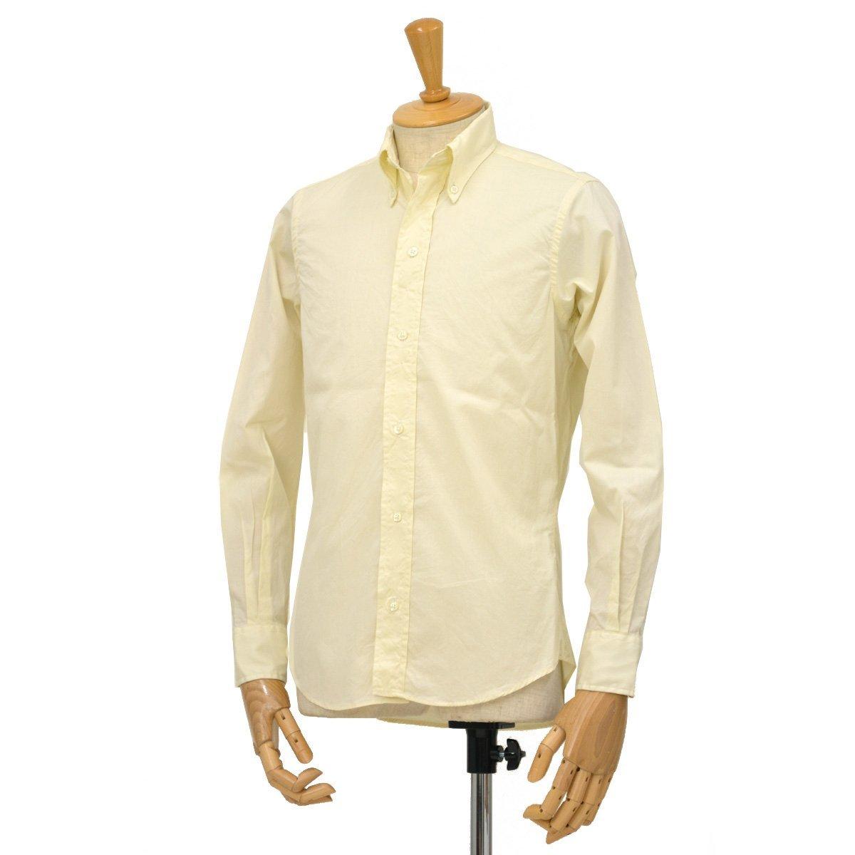 【ご予約受付中!】[INDIVIDUALIZED SHIRTS×RESOLUTE(林 芳亨氏) Special Model(Front 6 Button)【インディビジュアライズドシャツ×リゾルト】]ボタンダウンシャツ ピンポイントオックス エクリュ B07FXD1MS8 15