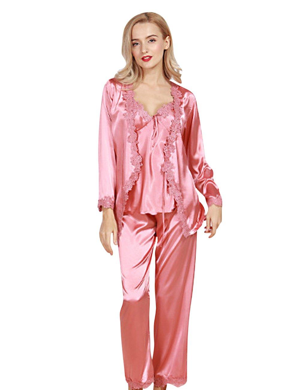 Menschwear 7807 Mujer Rayón Pantalones Pijamas Serie de la Serie ...