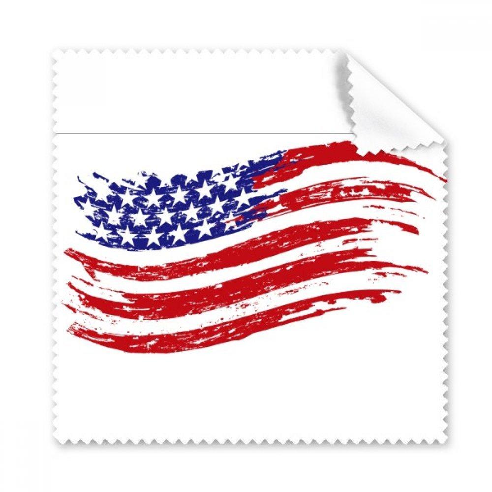 星とストライプ特定アメリカ国フラグGlasses布クリーニングクロスギフト電話画面クリーナー5点   B071221G2X