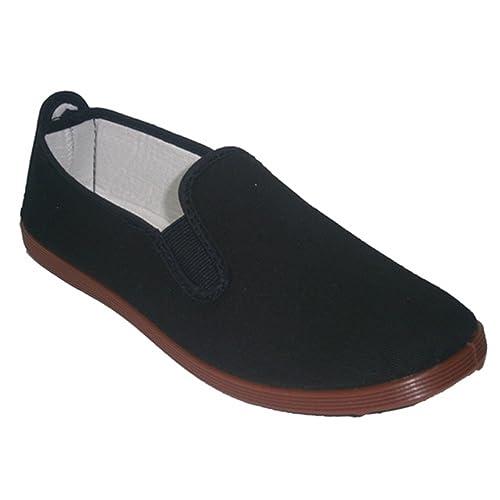 Zapatillas para Taichi kunfú y Yoga Irabia en Negro: Amazon.es: Zapatos y complementos
