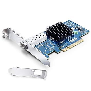H!Fiber.com Tarjeta de Red PCI Express de 10 GB para Intel X520 ...