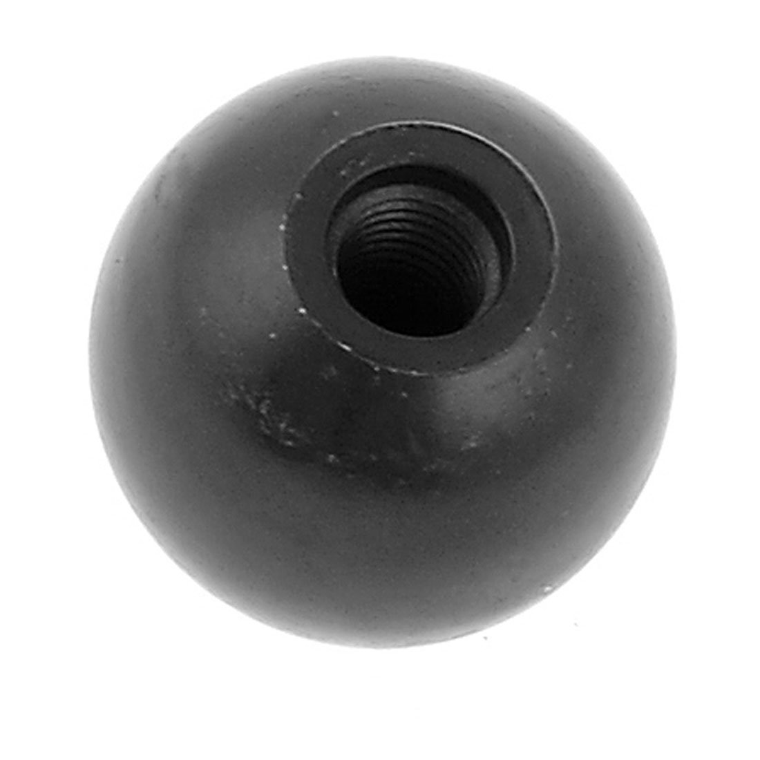 uxcell Plastic Ball Shape Joystick Machine Control Grip Black Knob 35mmx10mm