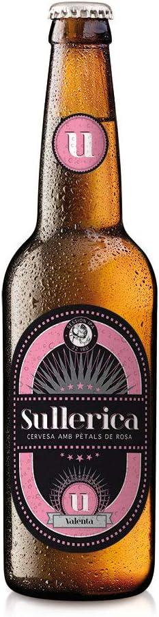 Cerveza Sullerica Valenta. Pack de 12 botellas de 0,33l.