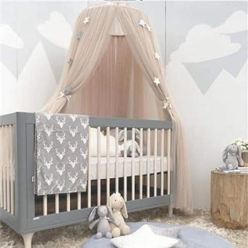 Taottao Enfants Bebe Ciel De Lit Lit Moustiquaire Rideau Parure De