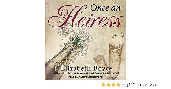 Amazon com: Once an Heiress: Crimson Romance, Book 2 (Audible Audio