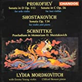 Prokofiev: Sonata for Solo Violin in D, Op. 115 / Sonata in C for Two Violins, Op. 56 / Shostakovich: Violin Sonata, Op. 134 / Schnittke: Praeludium D. Shostakovich for  Two Violins - Andante