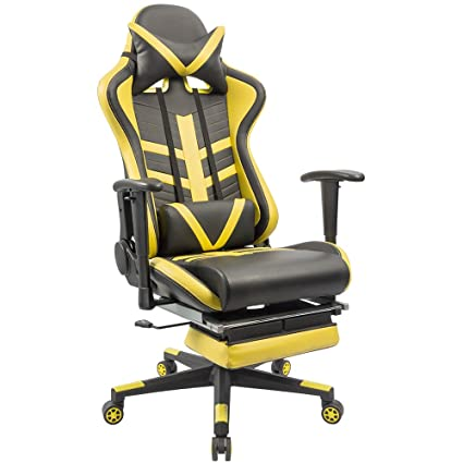 Homall Speed Series Racing Chair Ergonomic High Back Gaming Chair Premium  PU Leather Bucket Seat