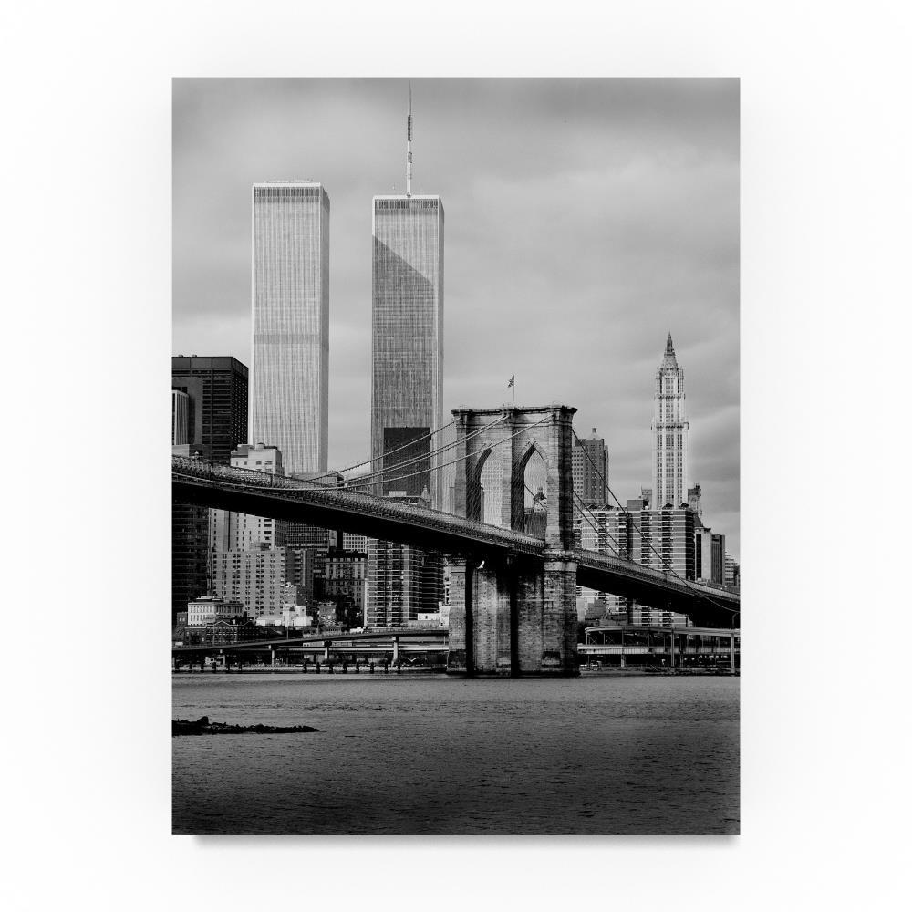 WTC by Chris Bliss、24 x 81 cmキャンバス壁アート B076TW97RY