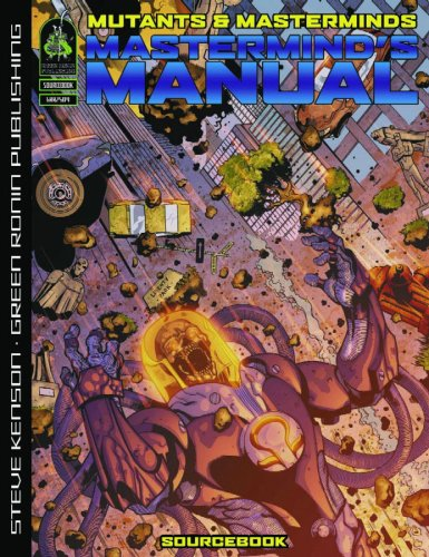 Download Mutants & Masterminds: Mastermind's Manual 2nd Edition PDF
