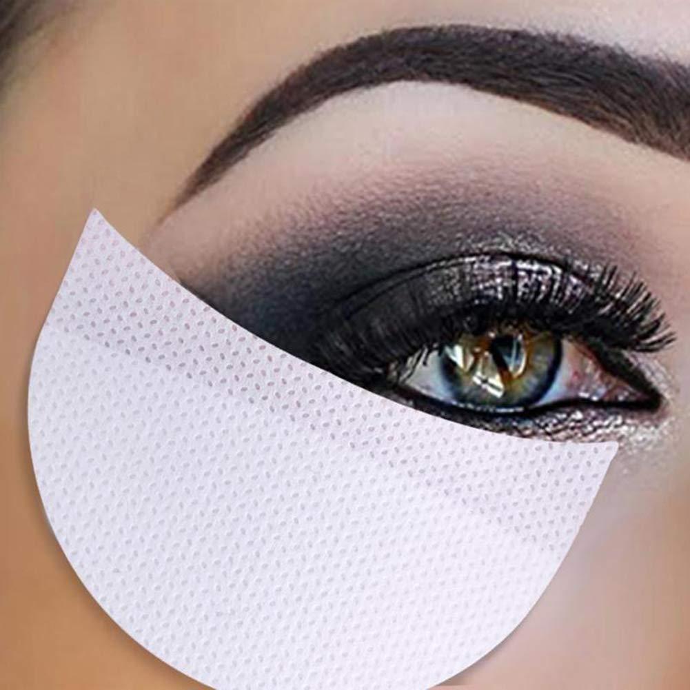 Lidschatten Aufkleber, ROMANTIC BEAR Weiß weichen Lint Vlies Einweg Unter Augenklappen Augen Make-up-Anwendung (50 Teile/Paket)