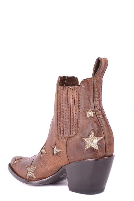 Mexicana Mujer Bl240612lb Marrón Cuero Zapatos: Amazon.es: Zapatos y complementos