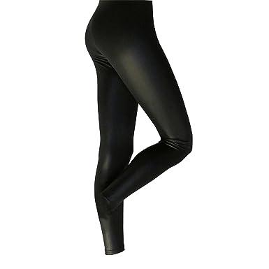 Leggings Effetto Pelle Silky Donna 1 Paio