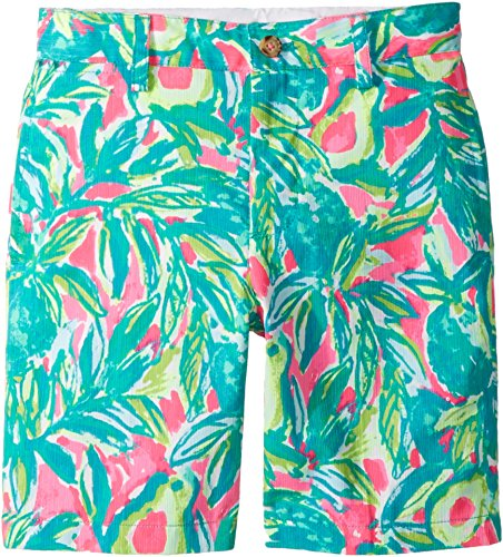 Lilly Pulitzer Kids Baby Boy's Pop Up Shorts (Toddler/Little Kids/Big Kids) Pink Sunset/Guac & Roll 8 - Lilly Pulitzer Infant