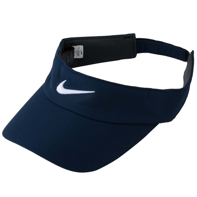Nike Golf Tech Visor (College Navy/White)
