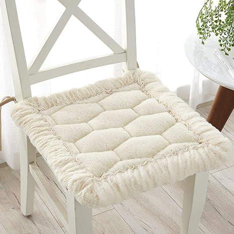 Amazon.com: Cojines de asiento sólidos, esponjosos, muy ...