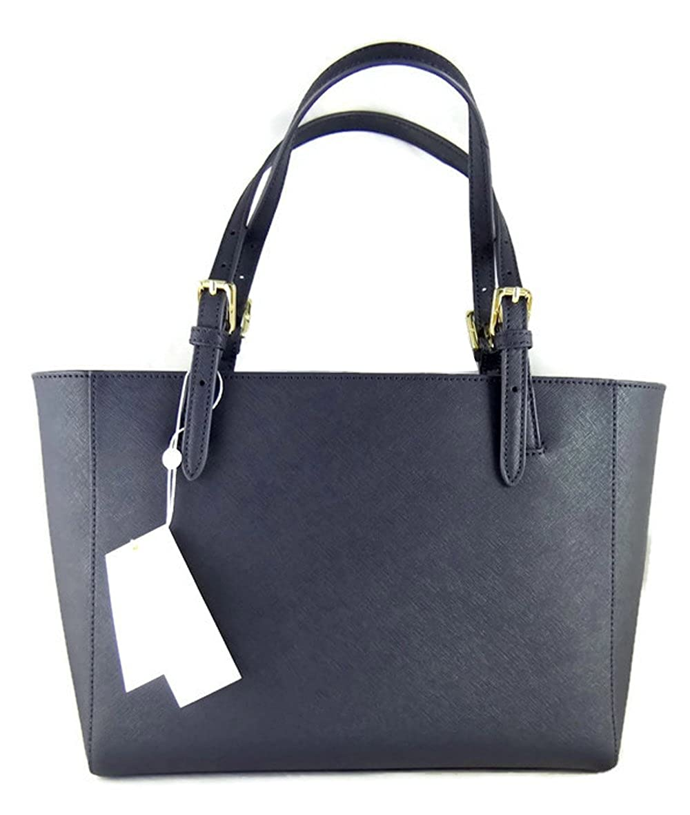 3c5b64f723a7 Amazon.com  Tory Burch Blue Leather Saffiano York Buckle Tote Handbag  Shoes