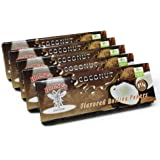 10 Packs 1 1/4 Coconut Flavored Cigarette Rolling Paper 500 Papers 78×44MM