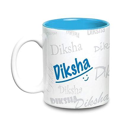 Buy Hot Muggs Me Graffiti Mug - Diksha Personalised Name Ceramic