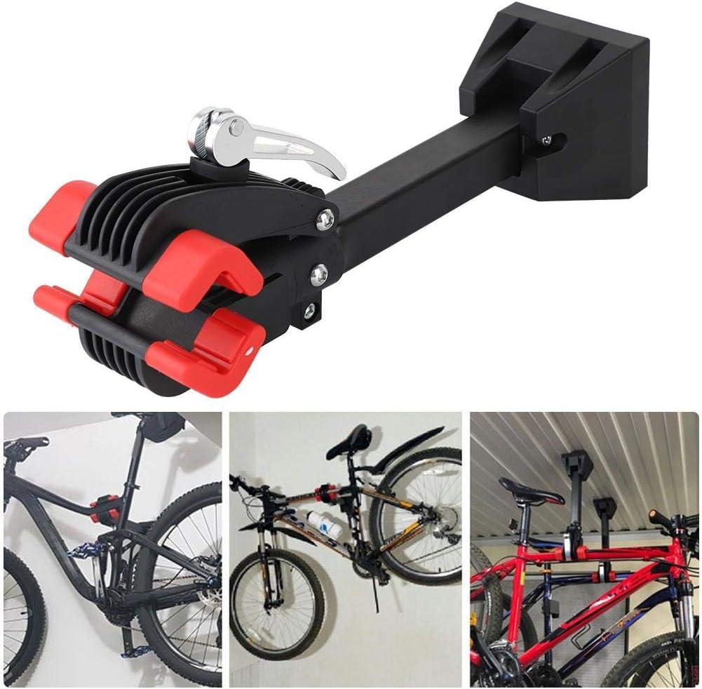 Pratico Supporto da Parete per Bicicletta Appendiabiti da Parete Portabici per Riparazione Bici Dekaim Portabiciclette