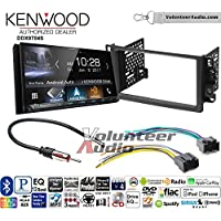 Volunteer Audio Kenwood DDX9704S Double Din Radio Install Kit with Apple Carplay Android Auto Fits 2007-2011 Chevrolet Aveo