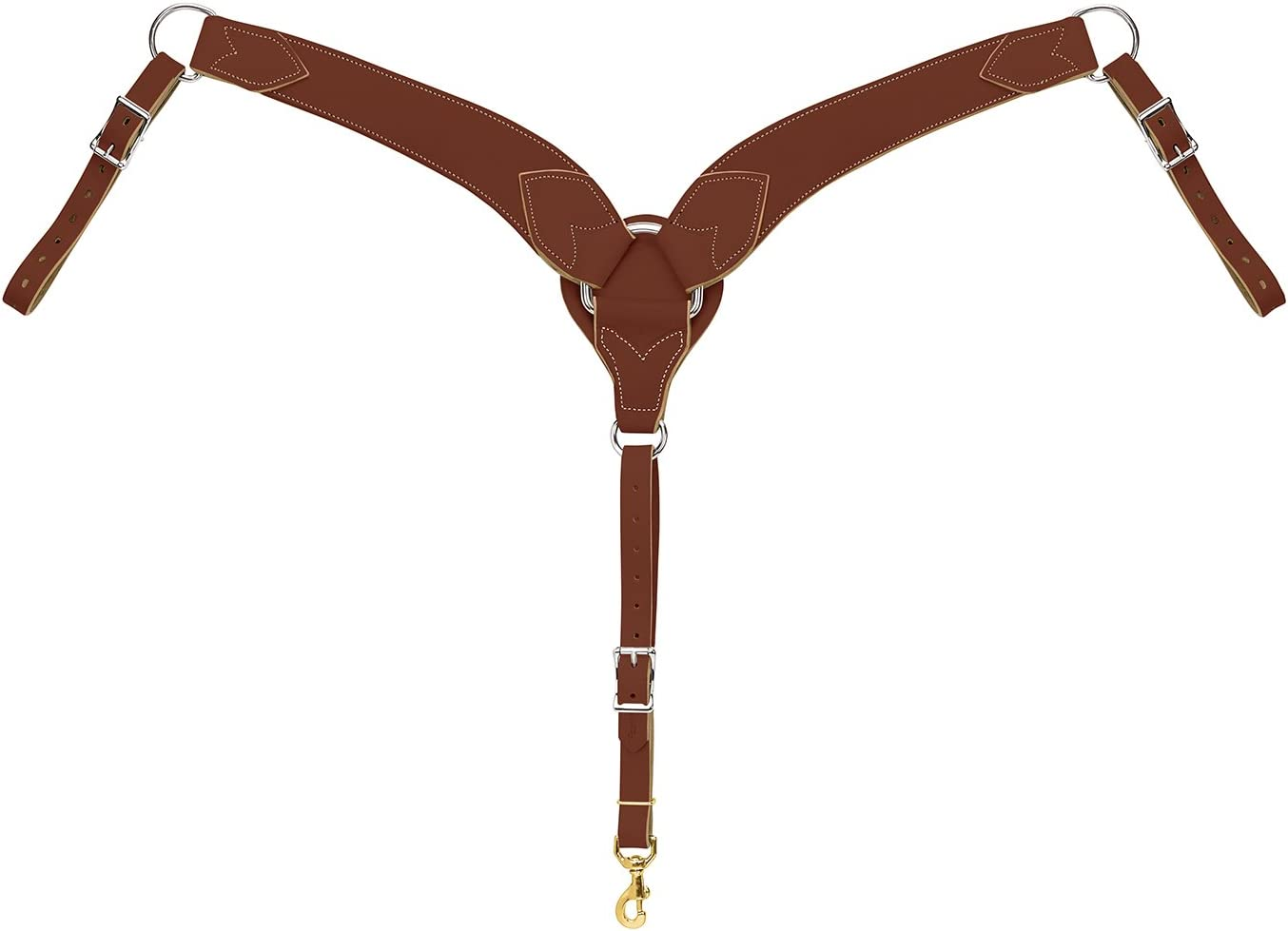 B003LVKZBE WEAVER Leather Horizon Roper Breast Collar 61tlI8JN2ML