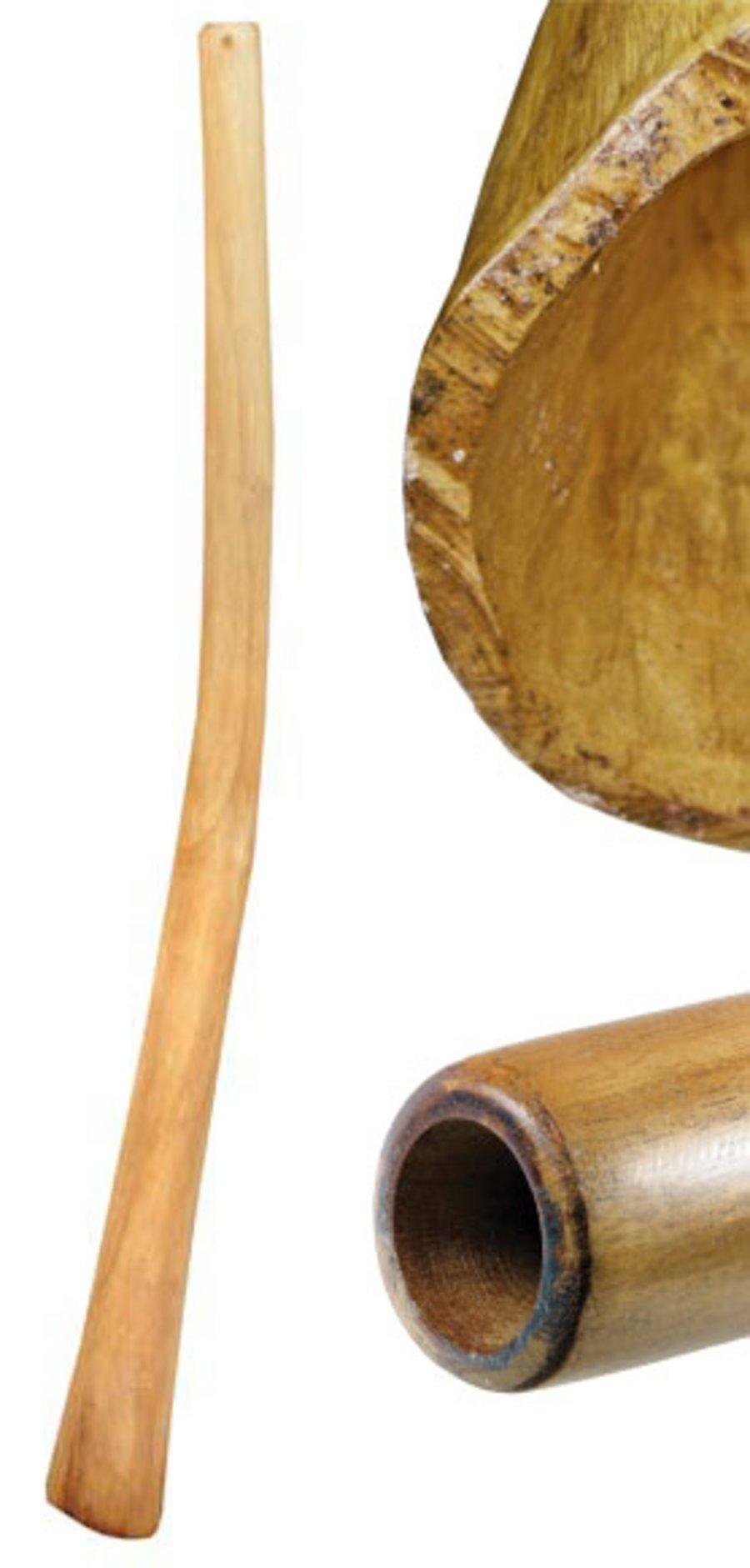 Didgeridoo Teak Natural (51 inch)