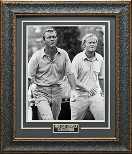 Jack Nicklaus & Arnold Palmer 11x14 Photo Framed by Signature Royale