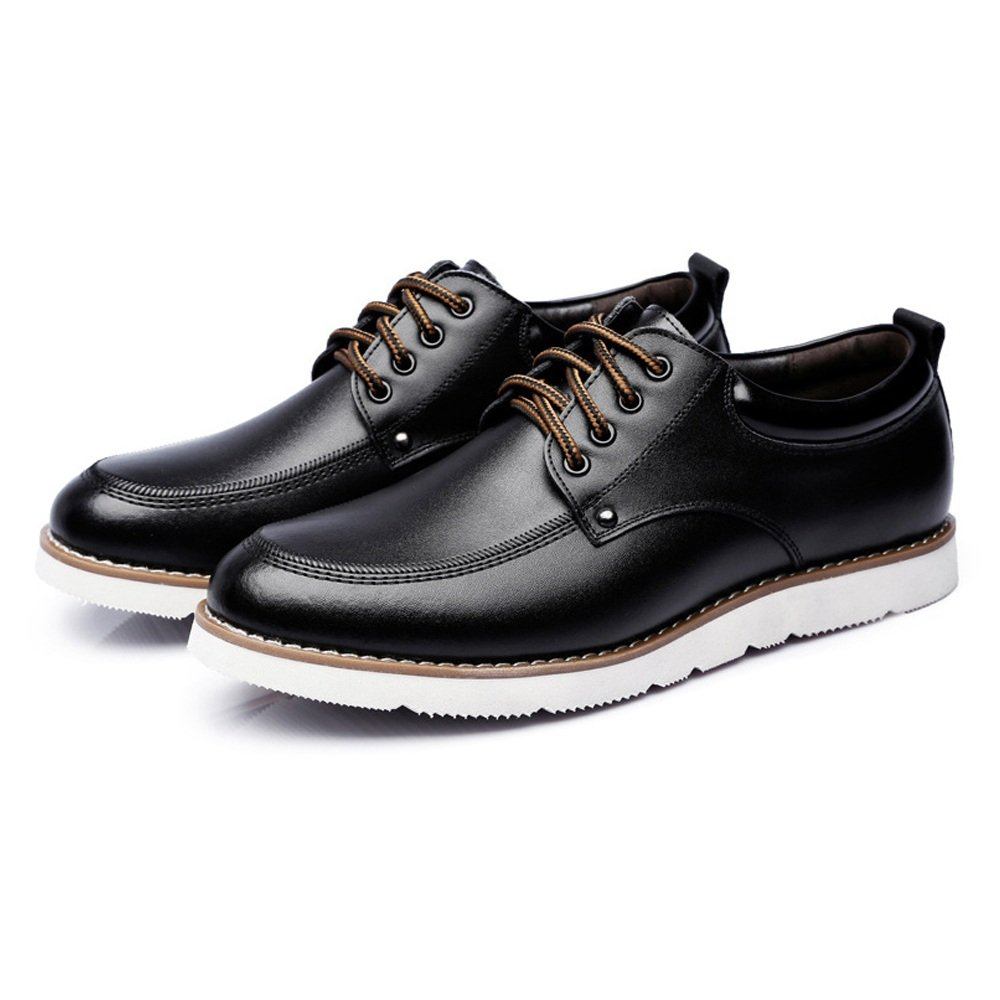 GBY GBY GBY Herren Lace Up Müßiggänger PU-Leder Casual Business Soft Flats Sohle Oxfords Driving Schuhe  81f55e