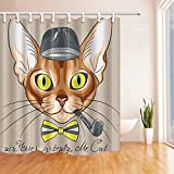 GoEoo Animal Decor Creative Dr. Cat with Hat - Best Reviews Guide