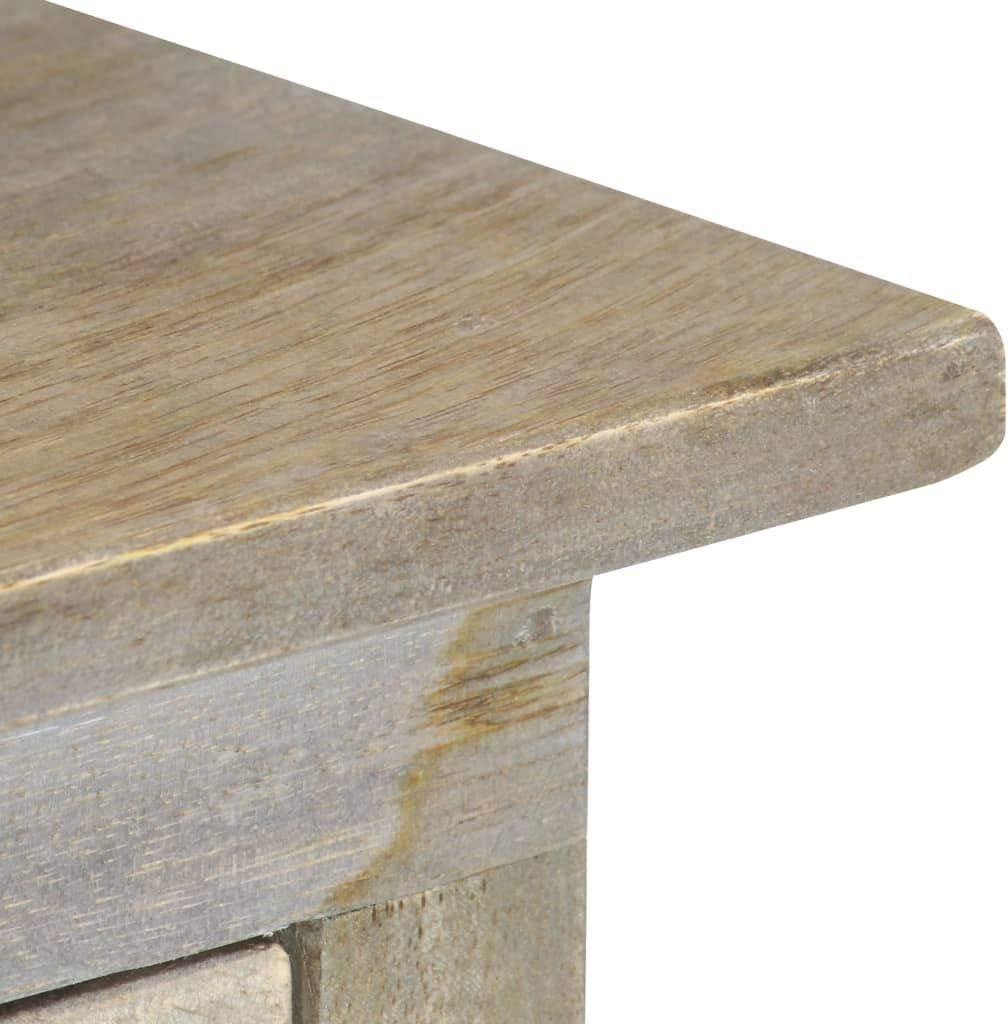 vidaXL Solid Mango Wood Console Table End Bedside Hall Tables Desks Living Room Lowboards Interior Home Decoration Items Storage 90cm
