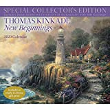 Books : Thomas Kinkade Special Collector's Edition 2020 Deluxe Wall Calendar: New Beginnings