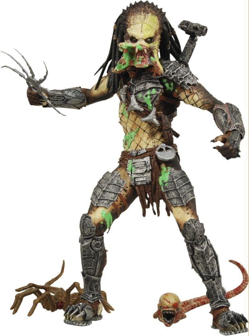 Alien VS. Predator: Requiem NECA Action Figure Series 4 Battle ...