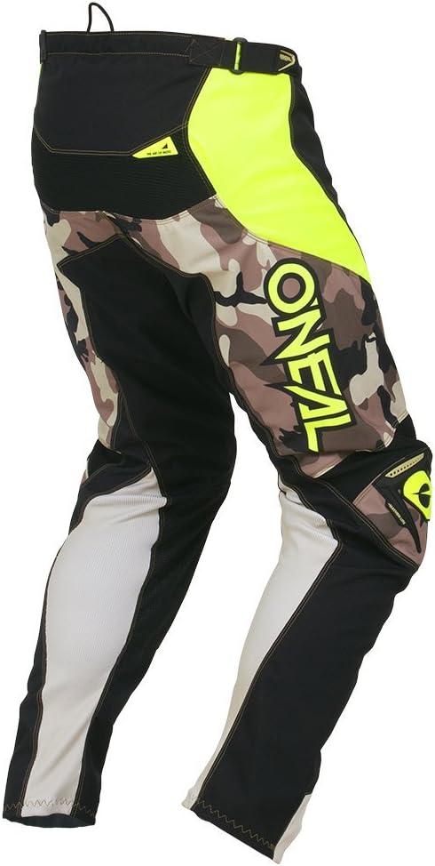 34 50 Gr/ö/ße ONEAL Mayhem Lite Ambush MX DH MTB Pant Hose lang schwarz//gelb 2020 Oneal