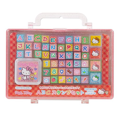 Hello Kitty ABC stamp set (japan import) by Sanrio