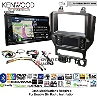 Volunteer Audio Kenwood Excelon DNX694S Double Din Radio Install Kit with GPS Navigation System Android Auto Apple CarPlay Fits 2015-2017 Mustang