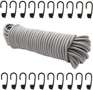 Spiralhaken 4mm 6mm 8mm 10mm für Seil Draht Expanderseil