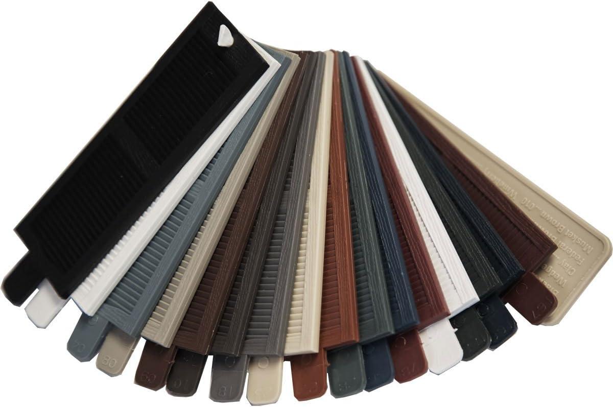 Amazon Com Ekena Millwork Lvsamplecolors Lifetime Vinyl Shutter Sample Colors Home Improvement