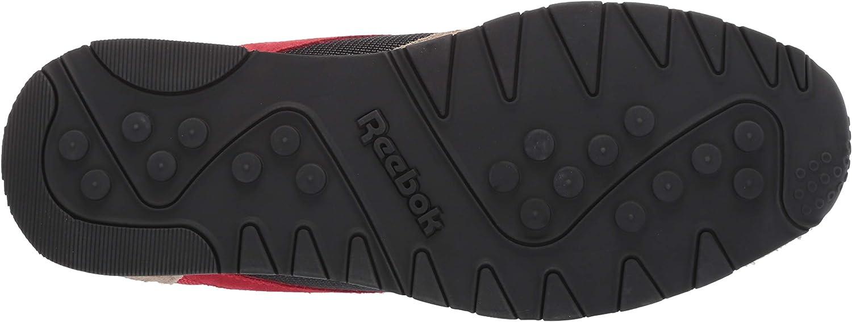 Reebok Herren Classic Nylon Turnschuh Primal Red True Grey Sand Beige Blau