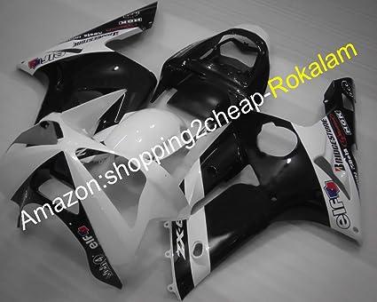 Venta caliente, color blanco y negro para Kawasaki Fairings ...