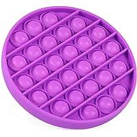 Bubble Sensory Fidget Toy Autism Special Needs Stress Reliever, Pop Bubble Sensory Fidget Toy (Purple)