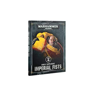 Games Workshop WARHAMMER 40,000: Codex: Imperial Fists: Toys & Games