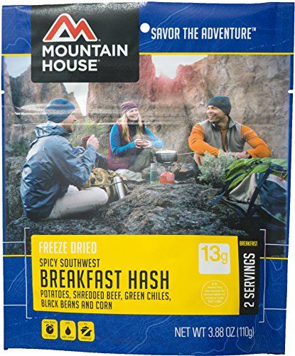 Mountain House Spicy Southwest Breakfast Hash, Pouch
