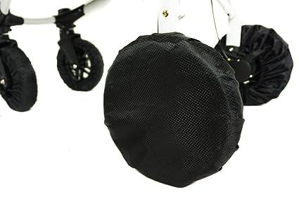 Funda para ruedas cochecito de bebé Accesorios 1 PC. Ruedas Tapas para silla de ruedas