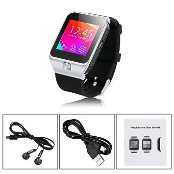 """ZGPAX 1,54"""" Bluetooth inteligente Reloj V3,0con la cámara de fotos digital"""